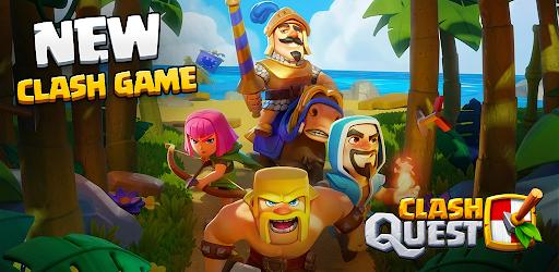Clash Quest Mod APK 0.175.98 (Unlimited everything)