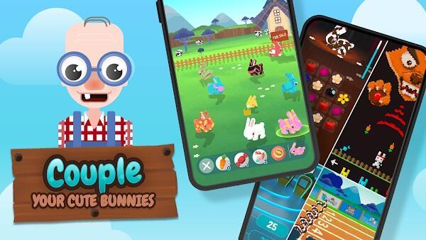 bunnies the love rabbit mod apk new update